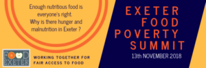 Exeter Food Poverty Summit 2018